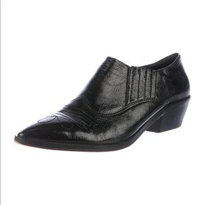 New Rebecca Minkoff Low Western Leather Booties